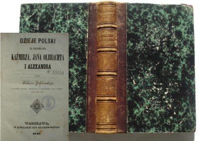 Gołębiowski, Dzieje Polski 1848 r. 450 zł