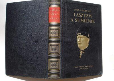 Faszyzm a sumienie 1931 r.  200 zł.