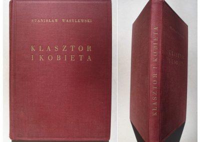 KLASZTOR I KOBIETA 1923 r. ORYG. DRZEWORYTY 180 zł.