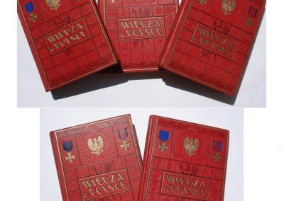 Wiedza o Polsce ładny egz. 5 vol. 2.400 zł.